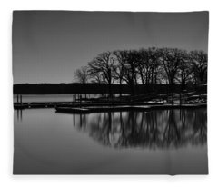 Reflections Of Water Fleece Blanket