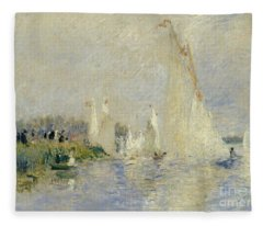 Regatta At Argenteuil Fleece Blanket