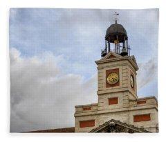 Reloj De Gobernacion 1 Fleece Blanket