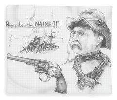 Remember The Maine Fleece Blanket