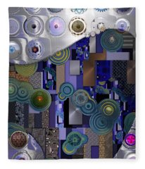 Remodern Dream Abstractor  Fleece Blanket