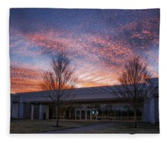 Renzo Piano Pavilion Fleece Blanket
