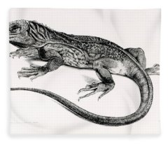 Reptile Fleece Blanket