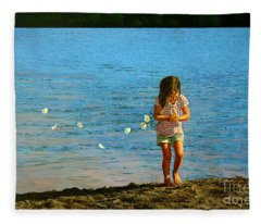 Rescuer Fleece Blanket