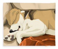 Rest Fleece Blanket