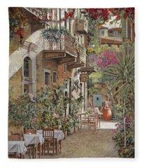 Rethimnon-crete-greece Fleece Blanket