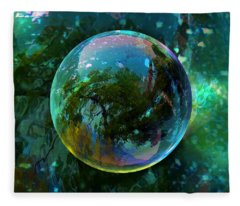 Reticulated Dream Orb Fleece Blanket