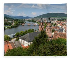 Rhine River Fleece Blanket