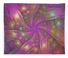 Ribbons Fleece Blanket