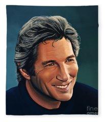 Richard Gere Fleece Blanket