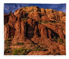 Right Here Right Now Fleece Blanket