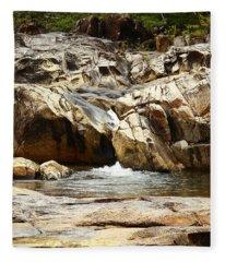 Rio On Pools Fleece Blanket