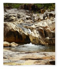 Rio On Pools Fleece Blanket