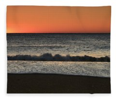 Rising To The Occasion - Jersey Shore Fleece Blanket