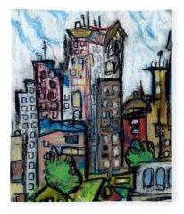 River City II Fleece Blanket
