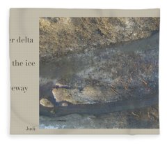 River Delta Haiga Fleece Blanket