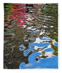 River Ducks Fleece Blanket