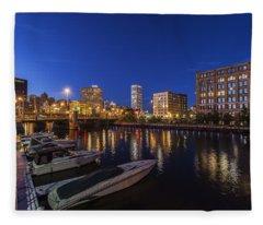 River Nights Fleece Blanket