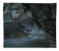 River Stalactites Fleece Blanket