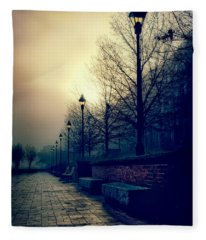 River Street Solitude Fleece Blanket