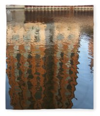 Riverwalk Reflection Fleece Blanket