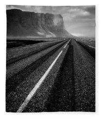 Road To Nowhere Fleece Blanket