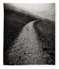 Road To Nowhere Haleakala National Park Maui Hawaii Fleece Blanket