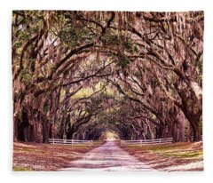 Road To The South Fleece Blanket