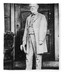 Robert Edward Lee  Fleece Blanket