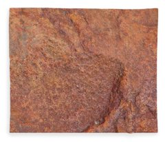 Rock Abstract #3 Fleece Blanket