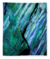 Rock Art 15 Fleece Blanket