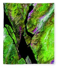 Rock Art 20 Fleece Blanket