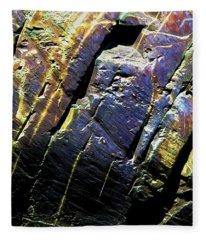 Rock Art 9 Fleece Blanket