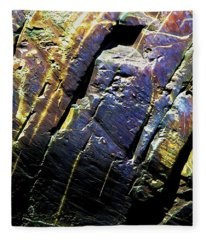 Rock Art 9 Fleece Blanket