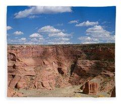 Rock Formations On A Landscape, South Fleece Blanket