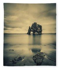 Rock Of Ages Fleece Blanket