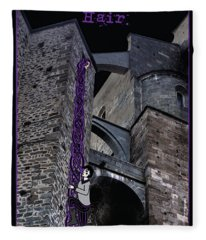 Rockin' Raven Celtic Rapunzel Fleece Blanket
