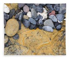 Rocks Fleece Blanket
