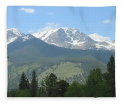 Rocky Mountain National Park - 2 Fleece Blanket