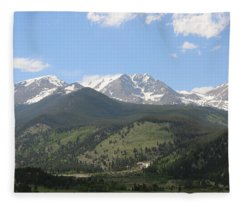 Rocky Mountain National Park - 3  Fleece Blanket