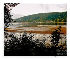 Rocky Point Port Moody Fleece Blanket