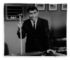 Rod Serling Fleece Blanket