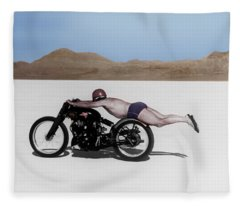 Roland Rollie Free Fleece Blanket
