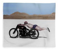 Roland Rollie Free Fleece Blanket