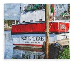 Roll Tide Stern Fleece Blanket