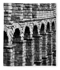 Roman Arches Fleece Blanket