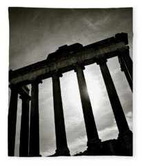 Roman Forum Fleece Blanket