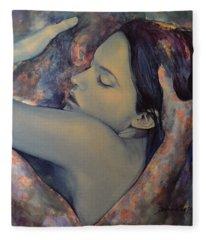 Romance With A Chimera Fleece Blanket