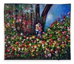 Romantic Fleece Blanket