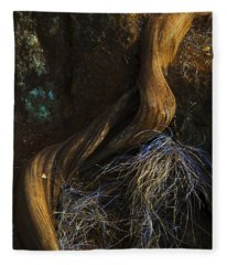 Tree Root Fleece Blanket